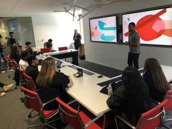 Crossroads students visited the headquarters of Google, YouTube and Facebook in Silicon Valley.