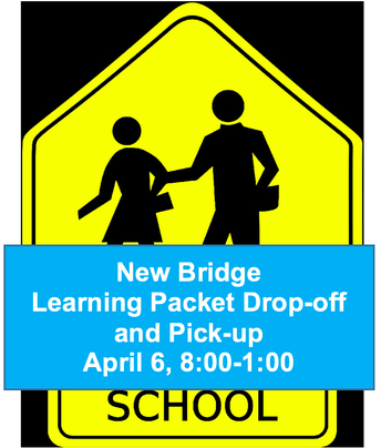 Packet Drop-off and Pick-up, Monday, April 6th 8:00-1:00