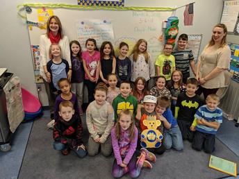 2nd Grade:  Mrs. Burnham and Mrs. Tarkowski's Class