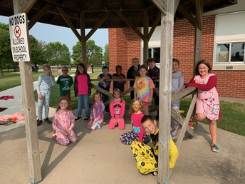 Mrs. Connelly 3rd Grade PJ Day