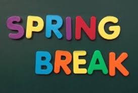 ¡Es tiempo de las vacaciones de primavera!  :)
