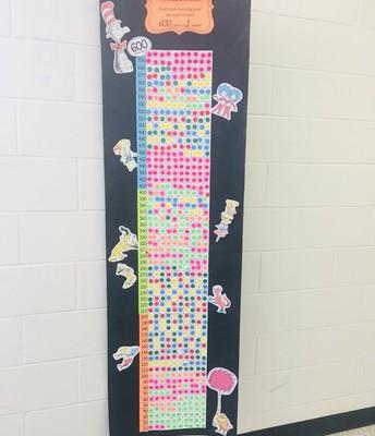 First grade met goal!
