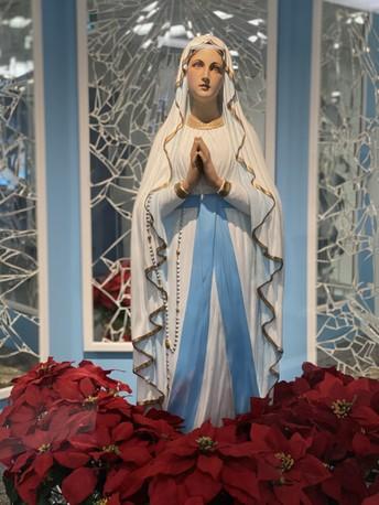 Madonna's Patron Saint is Mary