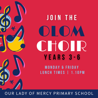 Join the choir - Years 3 to 6
