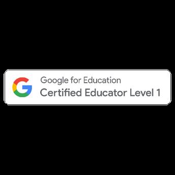 Google Educator Certification Level 1