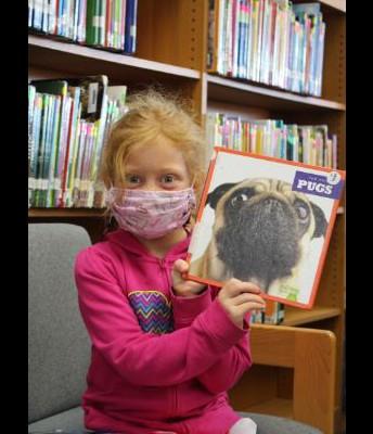 An eager reader!