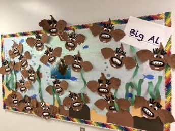 Ms. Miller's 1st/2nd Class Art