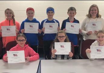6th grade essay winners