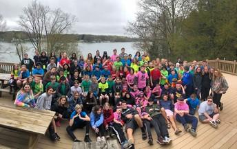 6th Graders @ Kimball Camp