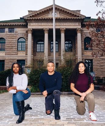 Three DHS Black Student Union Members Featured in Atlanta Magazine!