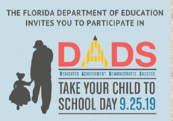 Dads Take Your Child to School Day 2019