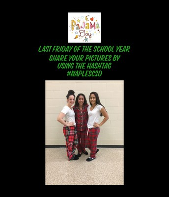 Celebrate the Last Friday of School with PJs day!