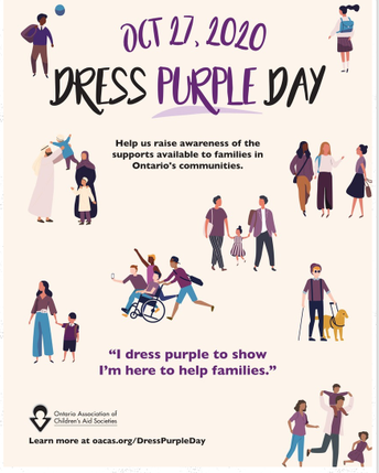 Dress Purple Day