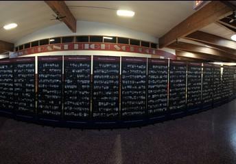 Vietnam War Remembrance Wall at Iowa-Grant High School