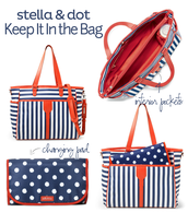 Keep It In The Bag (Diaper Bag) and Make It Quick Changing Pad