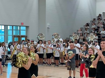 Meet the Jags: Band, Color Guard and Percussion!
