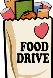 MES FOOD DRIVE, November 7-11 benefits Milan Food Pantry