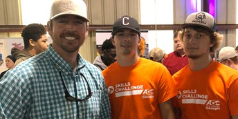 CCHS Competes in Construction Skills Challenge