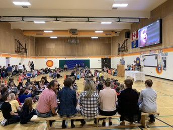 Beautiful Easter Assembly!