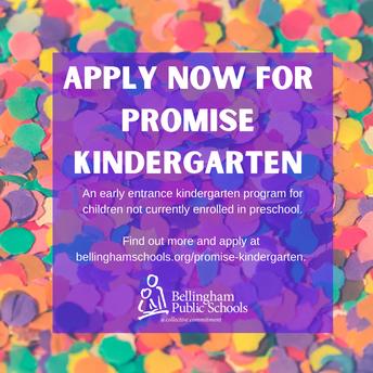 Apply for Promise K 2021