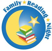 Family Reading Night will be April 20th