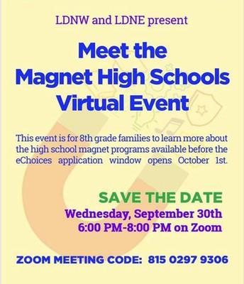 Meet the Magnet High School Night