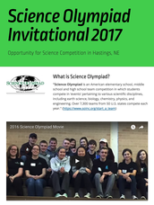 Want to join ESU9 for Science Olympiad?
