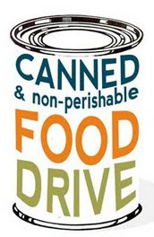 Please Participate in the Annual Canned Food Drive, December 10-14