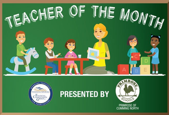 Teacher of the Month - October