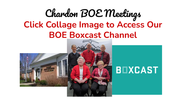 BOE Office, BOE Members - Group Photo, Boxcast logo