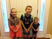 Lilly, James & Dexter