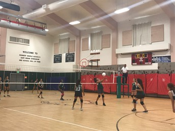 8th Grade Kennedy vs. Kennedy Volleyball Game