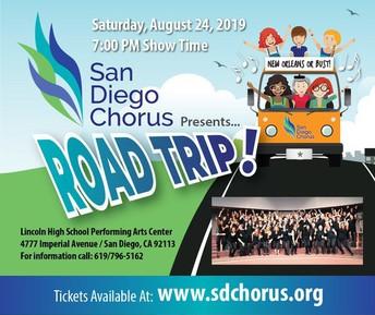 San Diego Chorus Presents ... Road Trip!