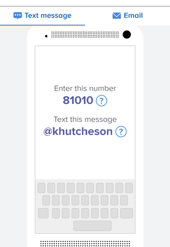 Sign up for Reminder Texts with Remind