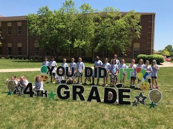 4th Grade Celebration