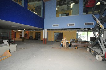 Main foyer/student forum area