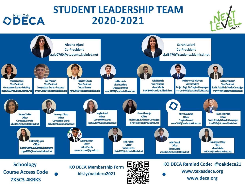 Student Leadership Poster