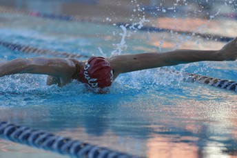 Swim District Meet and Swimming Under the Lights