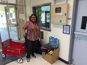 Westlawn UMC donating school supplies