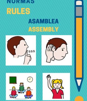 Normas de clase para 3 años (asamblea)