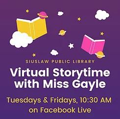 Siuslaw Public Library FREE Resources & Curbside Pickup!