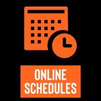 online schedules icon