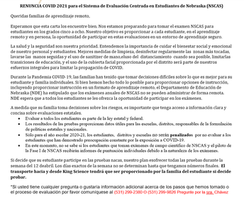 Remote Waiver (spanish)