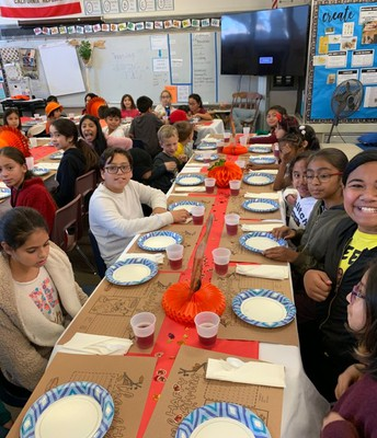 Students Give Thanks