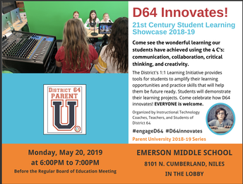 D64 Student Learning Showcase