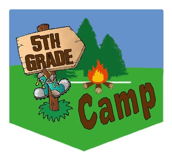 5th GRADE CAMP DATES FOR 2018-2019