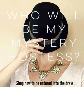 3) Set up your own Mystery Hostess Online Show for next week and raffle off the rewards!