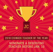 Nomination for Teacher of the Year