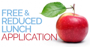 FREE & REDUCE LUNCH APPLICATIONS