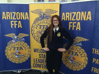 2018-2019 State FFA Vice-President At Large Abby Deam